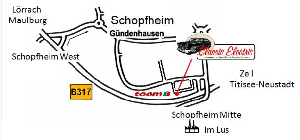Anfahrt Lusring detail